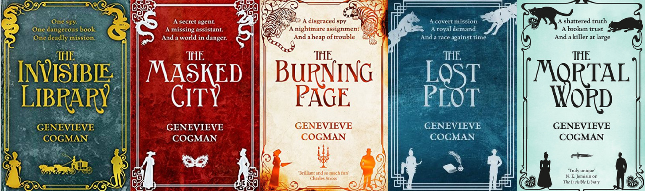 Here There Be Dragons: Genevieve Cogman & Jen Williams